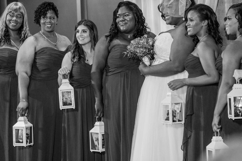 Wilson Wedding - Bridesmaids