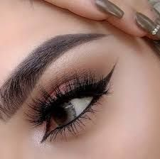 Up close makeup