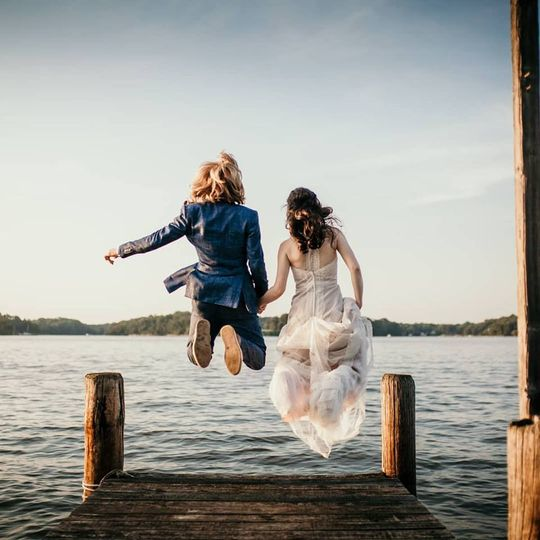 Jumping into marriage like...