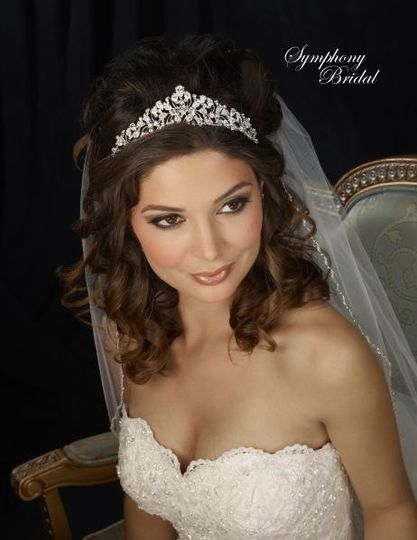 7307cr symphony bridal wedding tiara