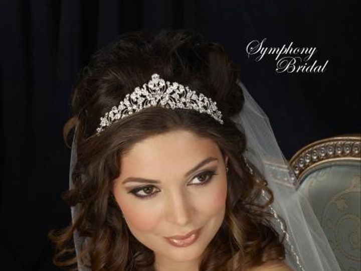 Tmx 1445621810699 7307cr Symphony Bridal Wedding Tiara Mount Pleasant, SC wedding jewelry