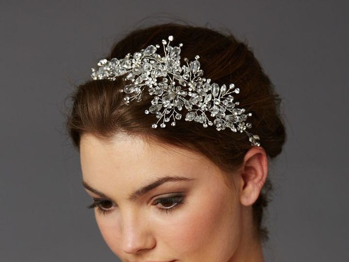Tmx 1445622488435 4380 Sparkling Headband On Model By Mariell Mount Pleasant, SC wedding jewelry
