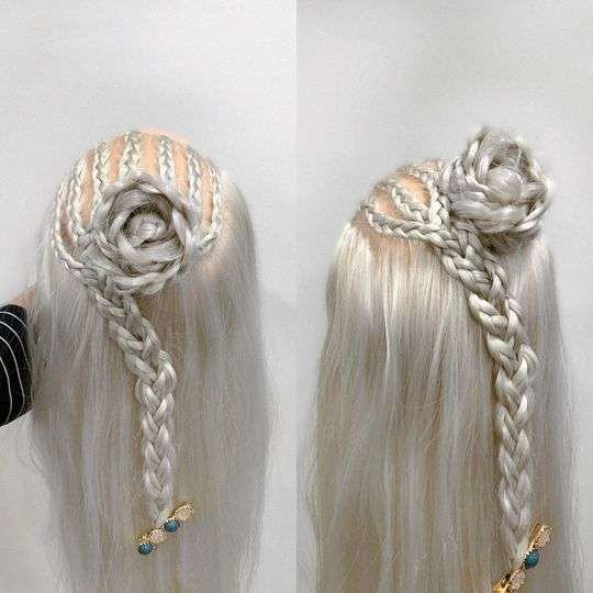 Specialty braid style