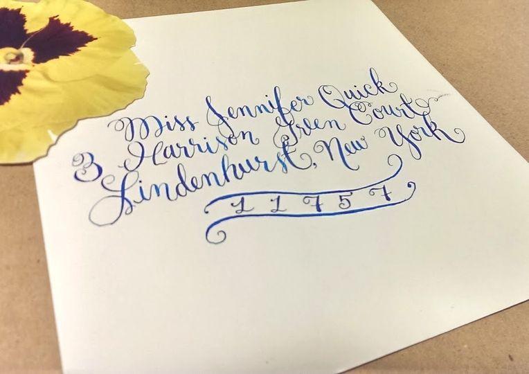 Saint george calligraphy invitations huntsville al for Wedding invitations huntsville al