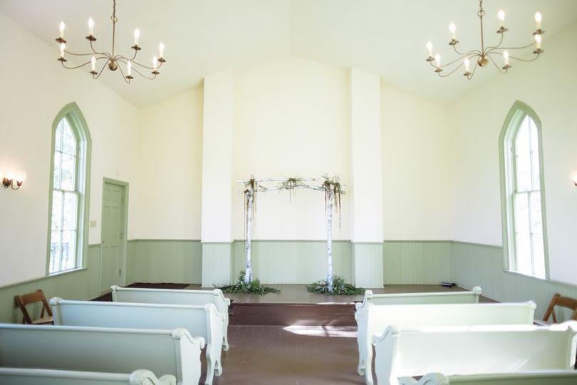 Plum Grove Chapel Wedding