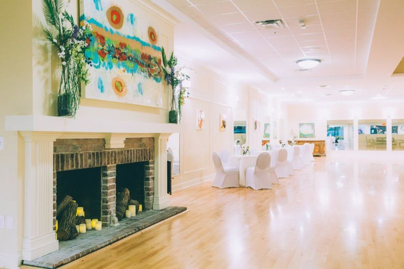 Fireplace ballroom