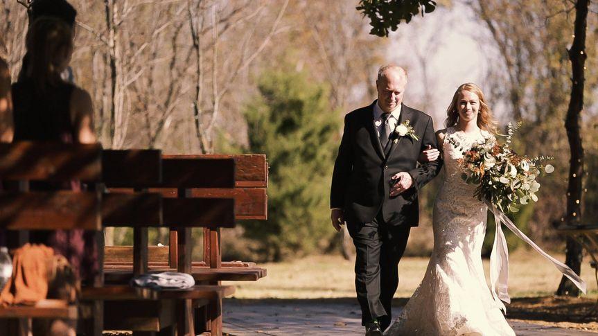Megli wedding video scenes