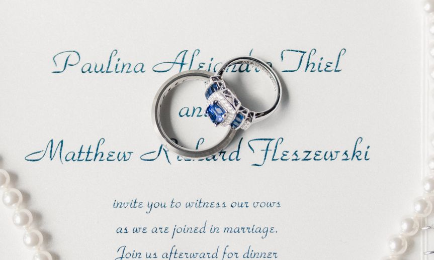 Wedding Invite and Rings