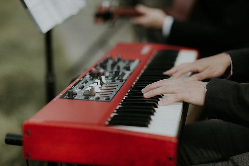 Accompanying keyboard