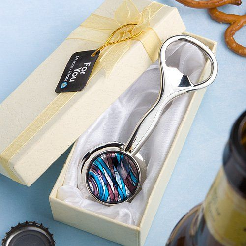 Murano Glass Collection bottle opener favors