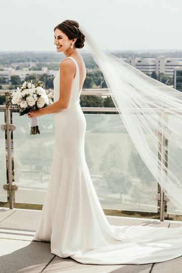 Beauty of the bride
