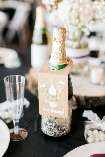 Champagne twist