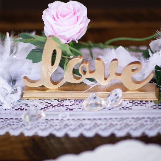 Love and decorations