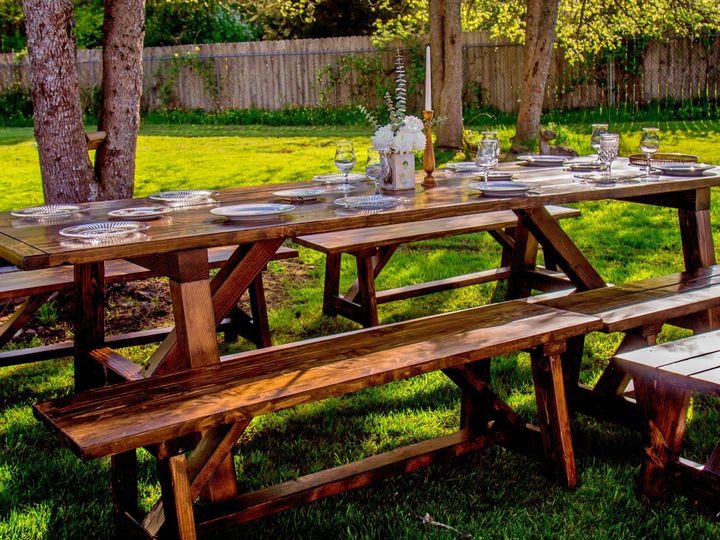 Tmx 1462249343395 Ashley Farm Tables 9fotor Bonney Lake, WA wedding rental