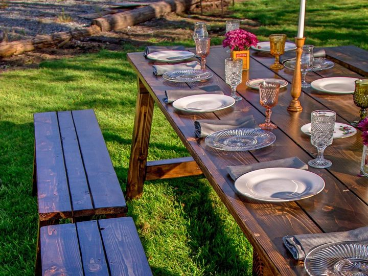 Tmx 1462249429919 Ashley Farm Tables 12fotor Bonney Lake, WA wedding rental