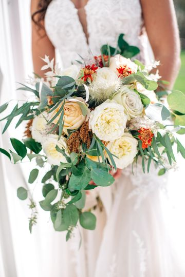 slight cascade boho style fall bridal bouquet 51 725691 161107676387151