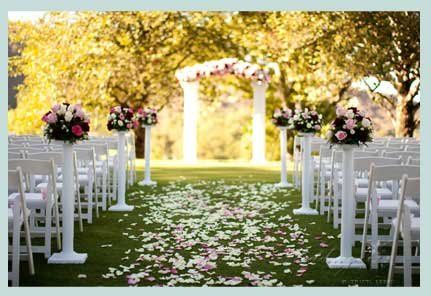 Ceremony Decor and Florals by Weddings by DK