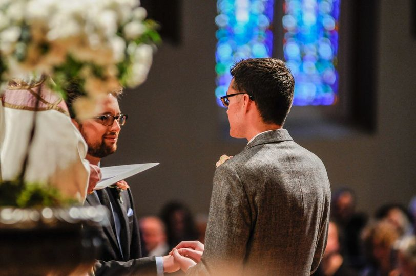 Cathedral wedding at Trinity