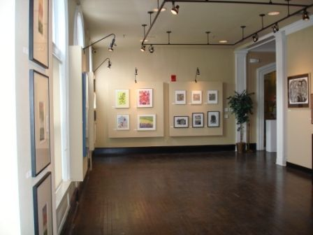 Small art gallery