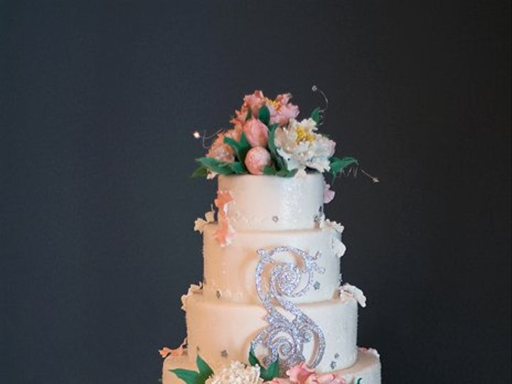 Tmx 1277838179207 Peony Ocean City wedding cake