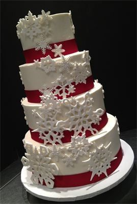 Tmx 1480274424524 Snowflake Wedding Frederick wedding cake