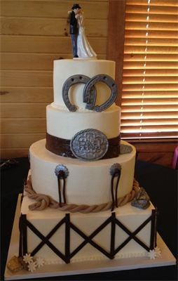 Tmx 1480274994694 Rodeo Wedding Frederick wedding cake