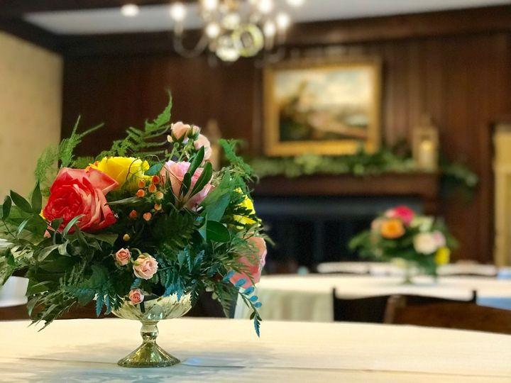 Trophy room wedding reception