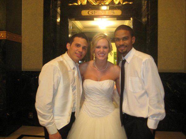 Beautiful Wedding at the War Memorial downtown Indianapolis, Indiana