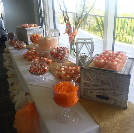 candy bar orange
