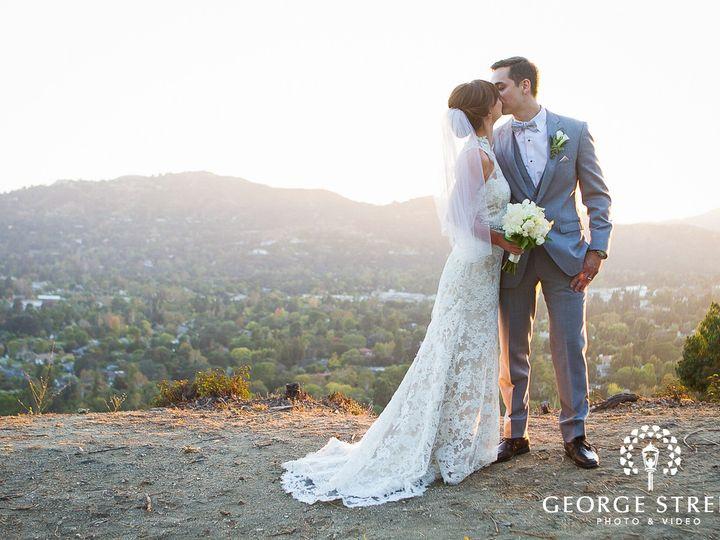 Tmx Bride And Groom Kissing During Golden Hour On A Hilltop 51 40791 158344736448002 La Canada Flintridge, CA wedding venue