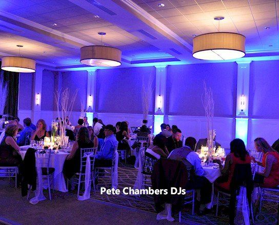 Reception lighting