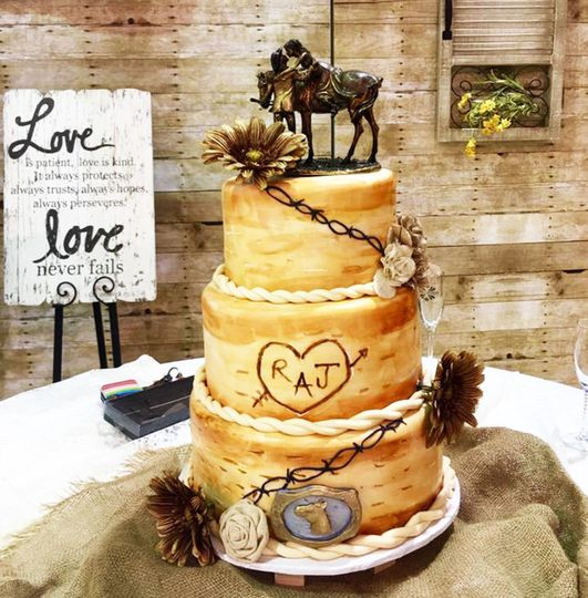 SweetBites - Wedding Cake - Frisco, TX - WeddingWire