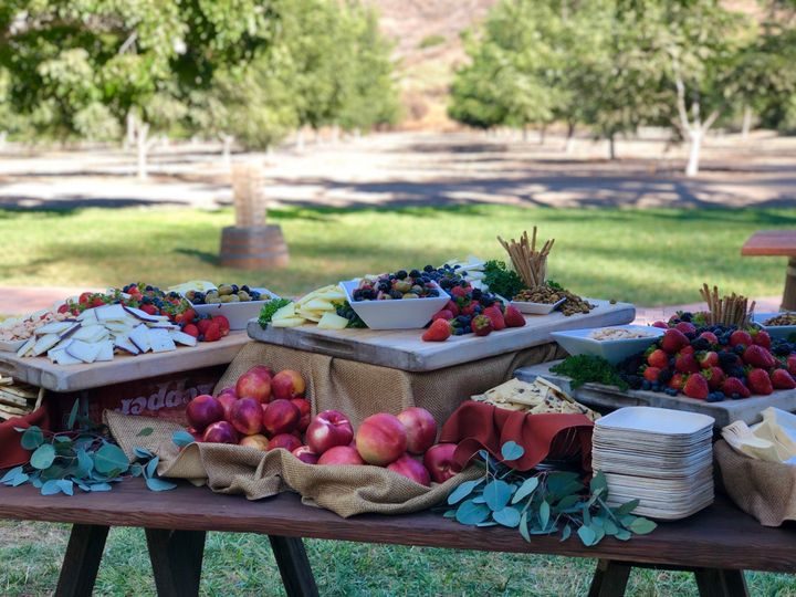 Fruit & Cheese at Walnut Grove