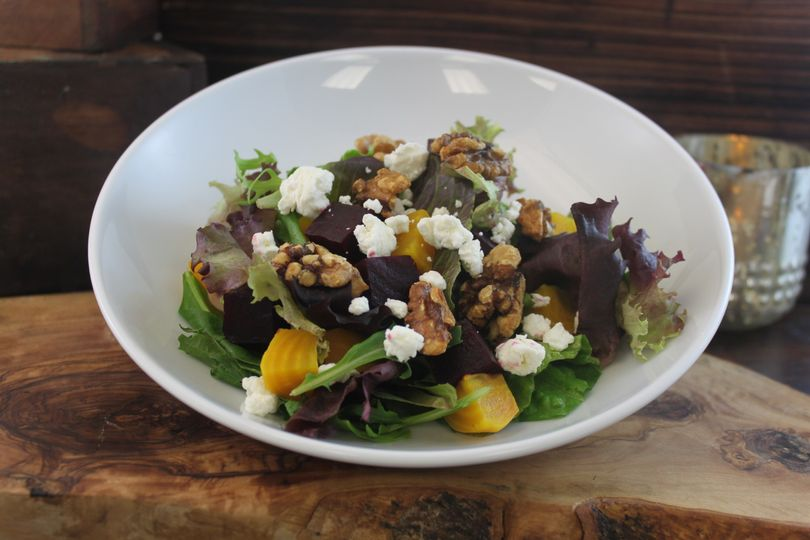 Red & Golden Beet Salad