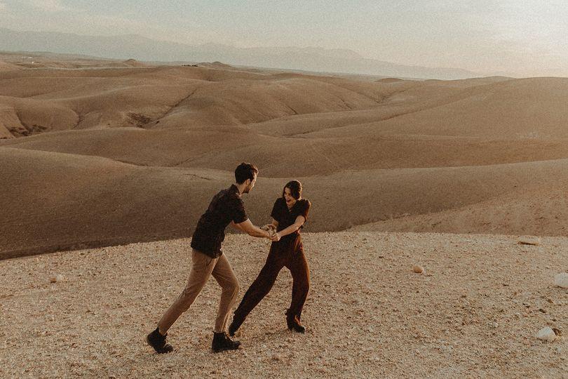 Elopement in Moroccan Desert