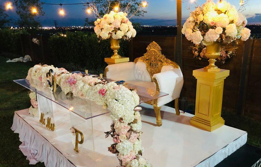 Wow! Sweetheart Table