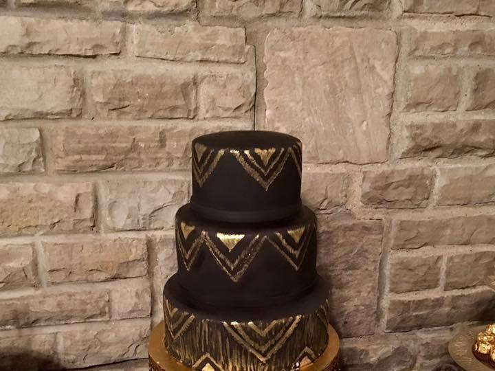 Tmx Wedding10 51 905791 Rossford, OH wedding cake