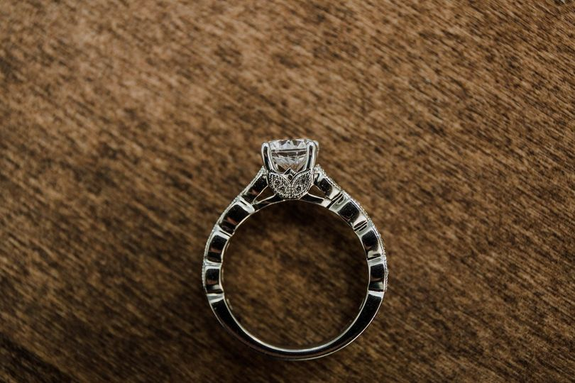 Sample engagement ring
