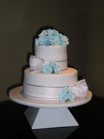 Fondant cake specially made for anne morseth, the design included all elements she was wanting in...