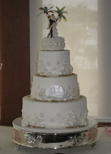 Alvin and allison's wedding cakes.
