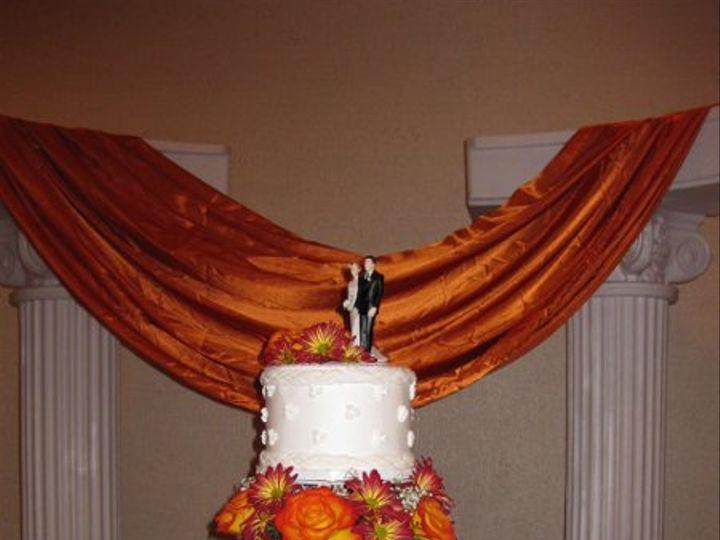 Tmx 1245560662886 JoanaandBryanWeddingCake016 Azusa, California wedding cake
