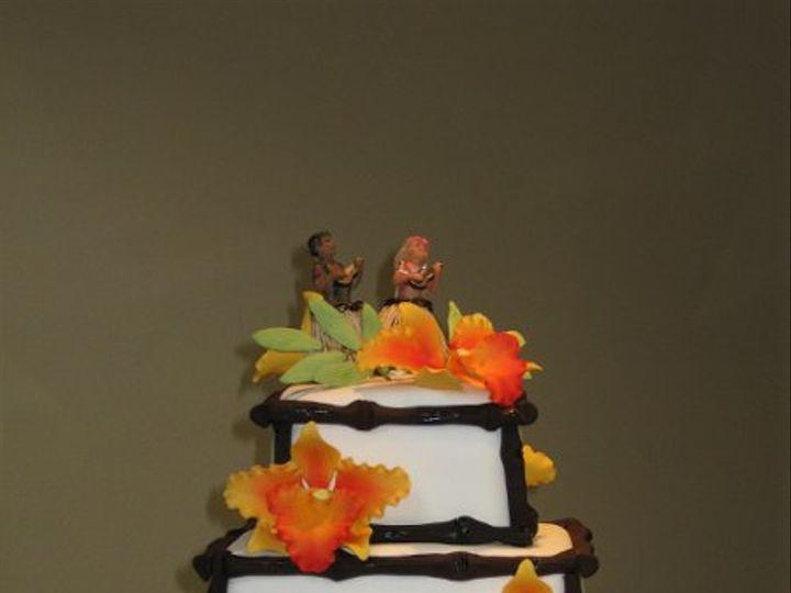 Tmx 1249781736177 CassandraandSteveWeddingcake043 Azusa, California wedding cake