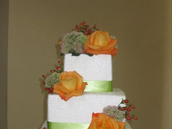 Tmx 1252543029671 KevinandHeathersweddingcake017 Azusa, California wedding cake
