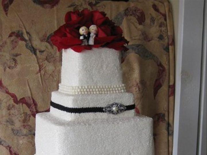 Tmx 1278808768109 SuzieandPatrickWeddingCake018 Azusa, California wedding cake