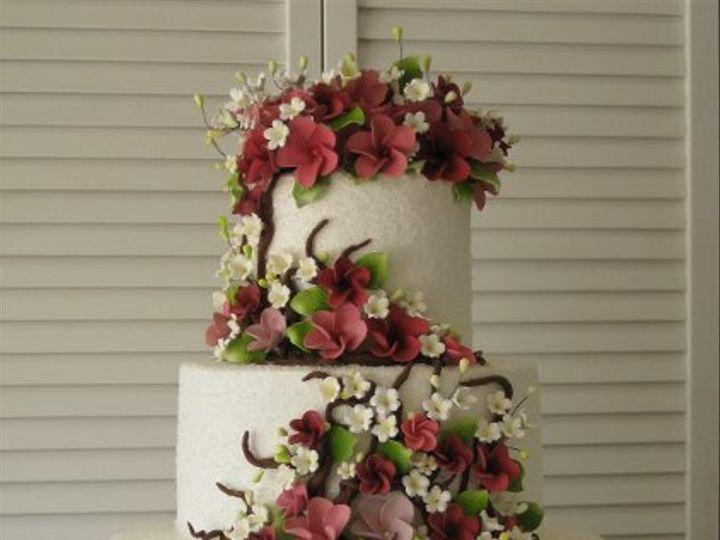 Tmx 1284865271581 KarenandRichardLeeWeddingCake011 Azusa, California wedding cake