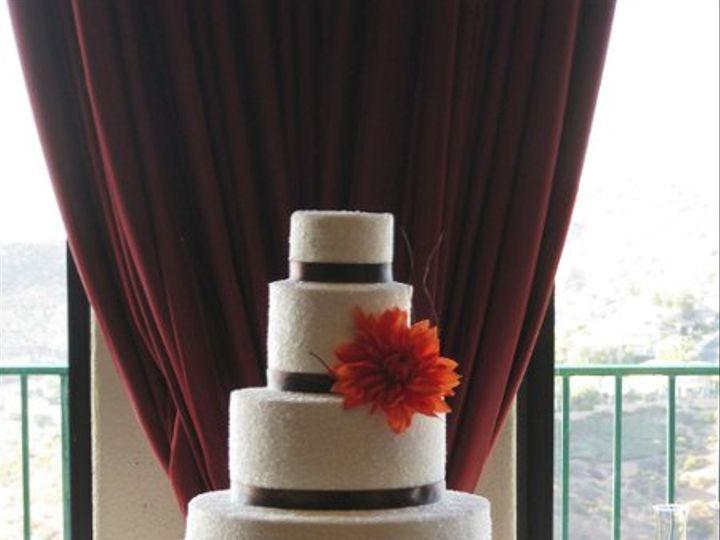 Tmx 1285383048716 ReinaandJoeyWeddingCake014 Azusa, California wedding cake