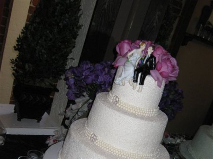 Tmx 1286585228581 JessicaandJonathanweddingcake005 Azusa, California wedding cake
