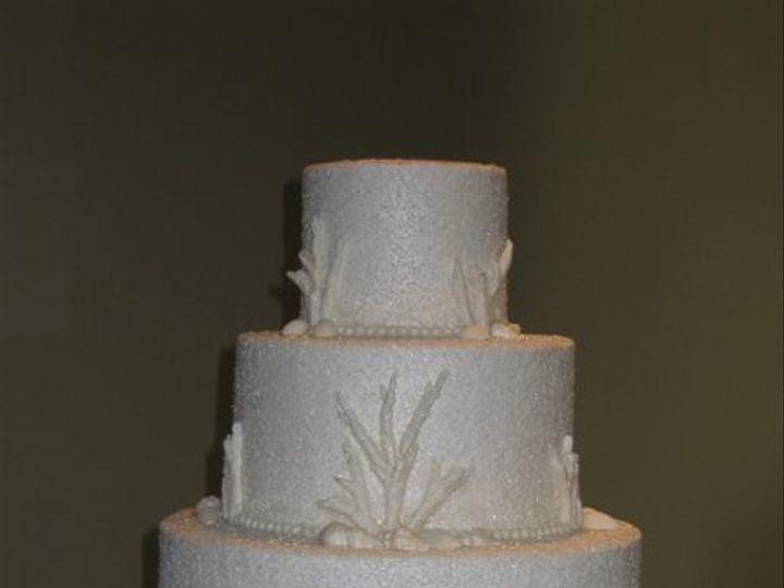 Tmx 1288484138279 MaureenandJeremyweddingcake012 Azusa, California wedding cake