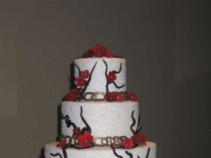 Tmx 1290406355582 SamdeepWeddingCake001 Azusa, California wedding cake