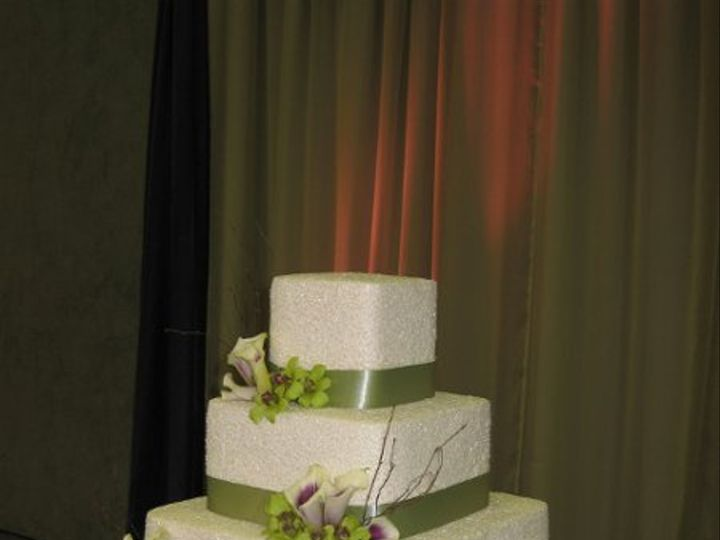 Tmx 1302399560631 CharisandDaceWeddingCake012 Azusa, California wedding cake
